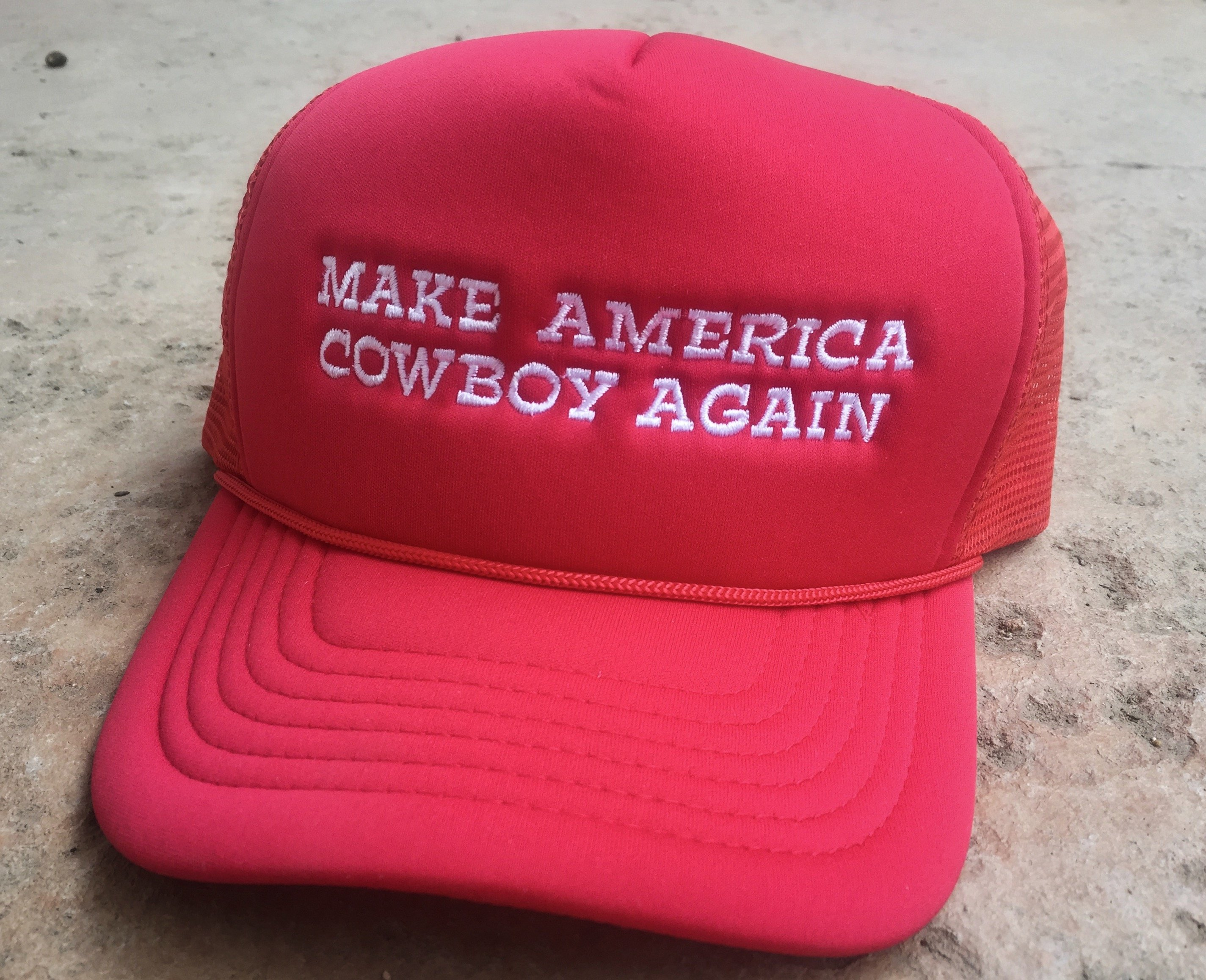 Make America Cowboy Again™ Trucker Hat